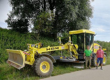 Unterhaltsmaßnahmen an Feldwegen