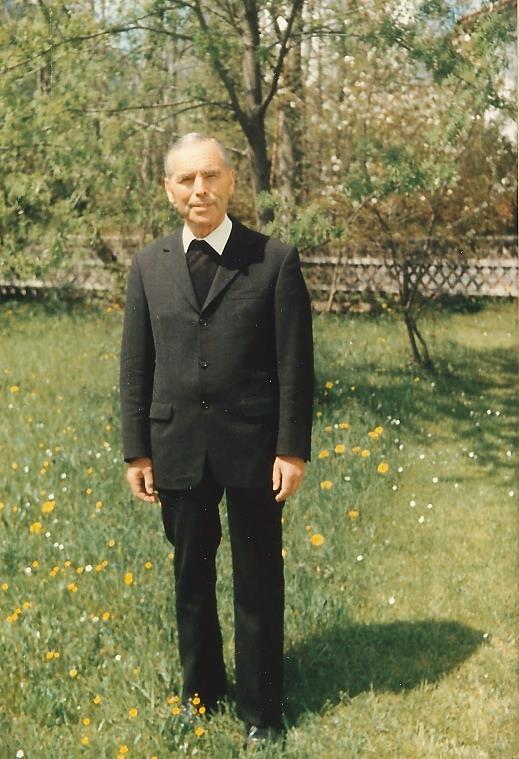 Erinnerung an den ehemaligen Pfarrer Anton Glas