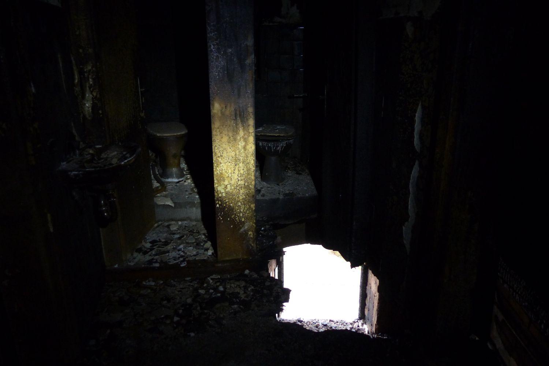 So sieht es Innen nach dem Großbrand aus